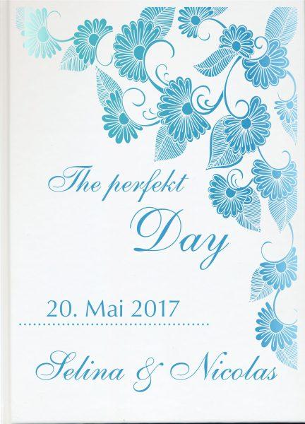 Personalisiertes Gästebuch für Ihre Hochzeit (Motiv 54)