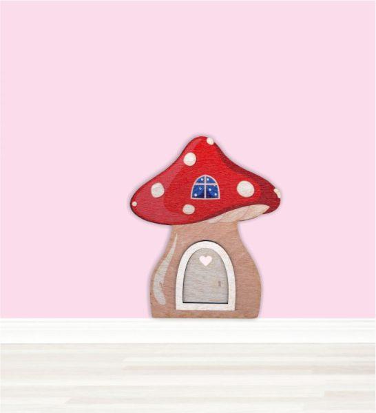 Zauberhaftes Elfentürchen Feentürchen Wichteltür Pilzhaus einzeln