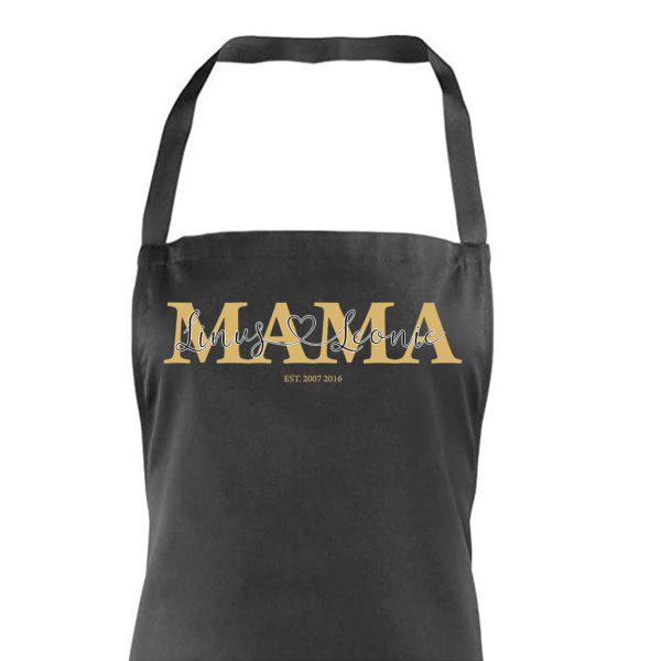Schürze Kochschürze Mama mit Name