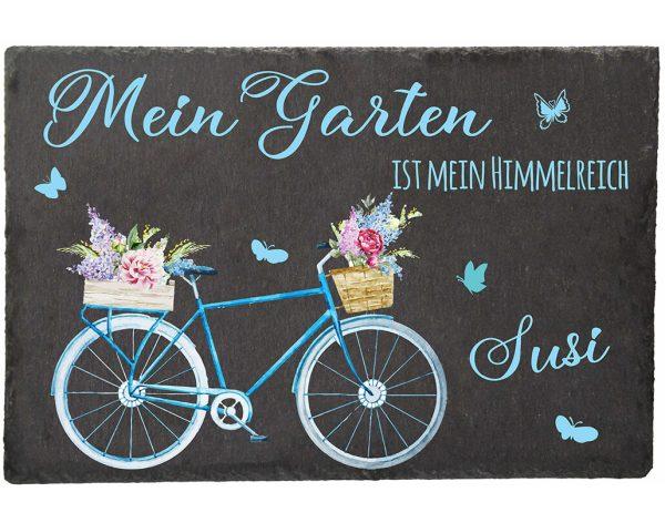 Schieferplatte für den Garten Himmelreich