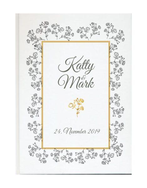 Personalisiertes Gästebuch für Ihre Hochzeit (Motiv 15)