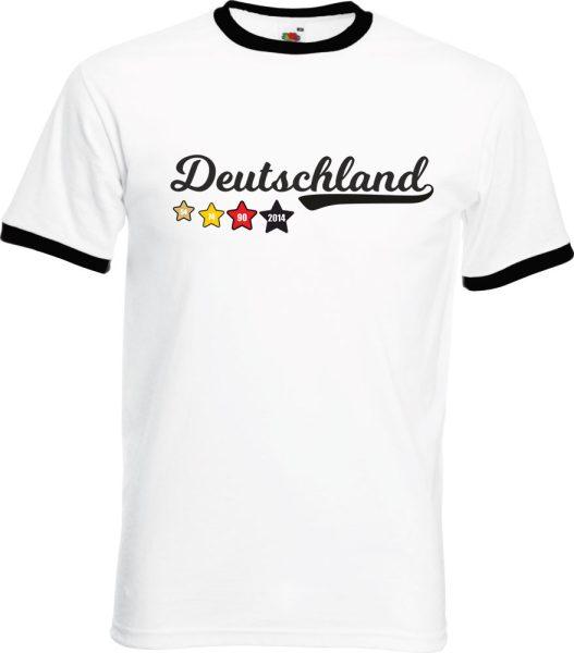 Herren T-Shirt WM 2018 Motiv 2 Sterne