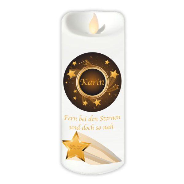 LED Kerze Twinkle Sternenkind Sternschnuppe