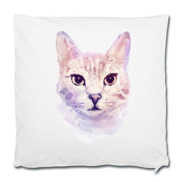 Dekokissen Kissen Watercolor Katze