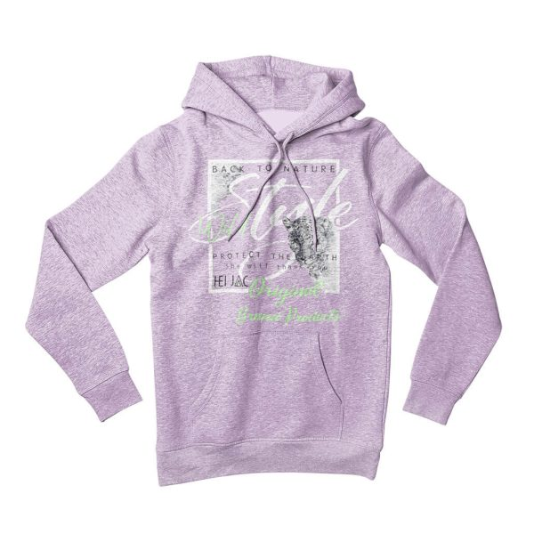 Kapuzenpullover Pullover Hoodie Back to Nature