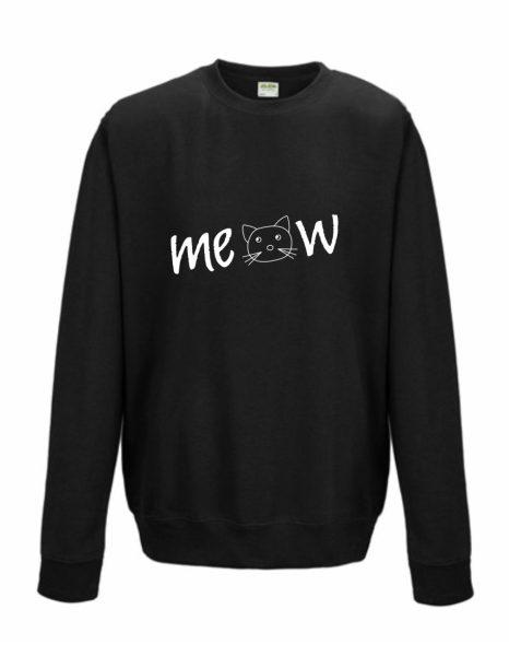 Sweatshirt Shirt Pullover Pulli Unisex Meow