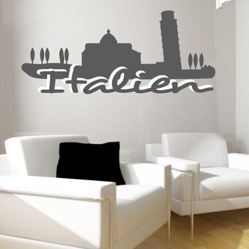 Wandtattoo Italien Impression
