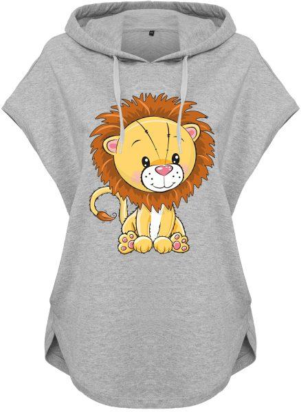 Kawaii Hoodie Kapuzenhoodie für Damen Löwe