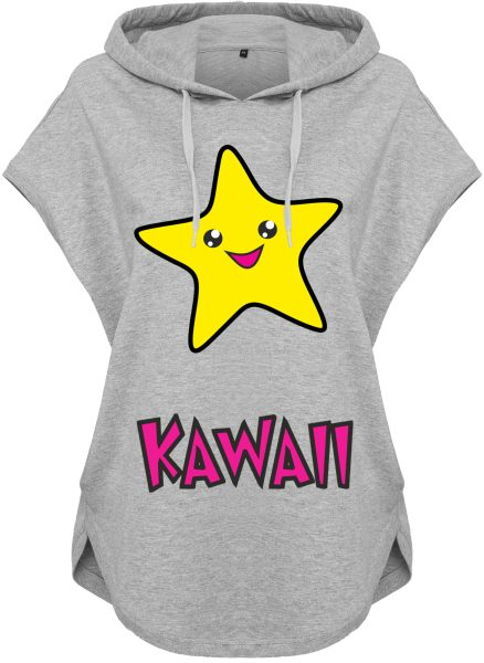 Kawaii Hoodie Kapuzenhoodie für Damen Stern