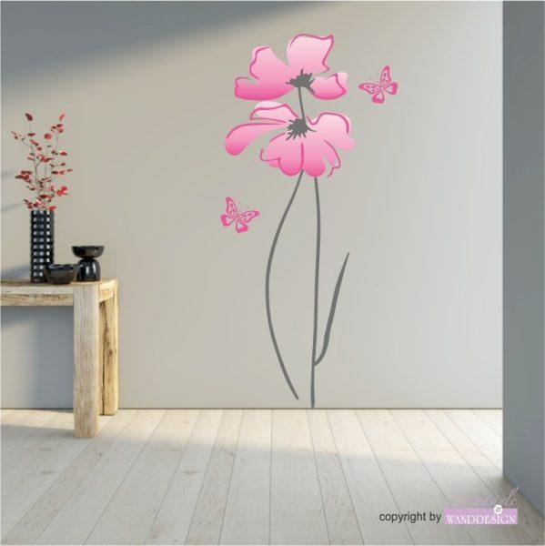 Wandtattoo Blume Lina