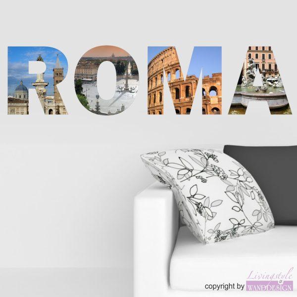 Wandtattoo Roma