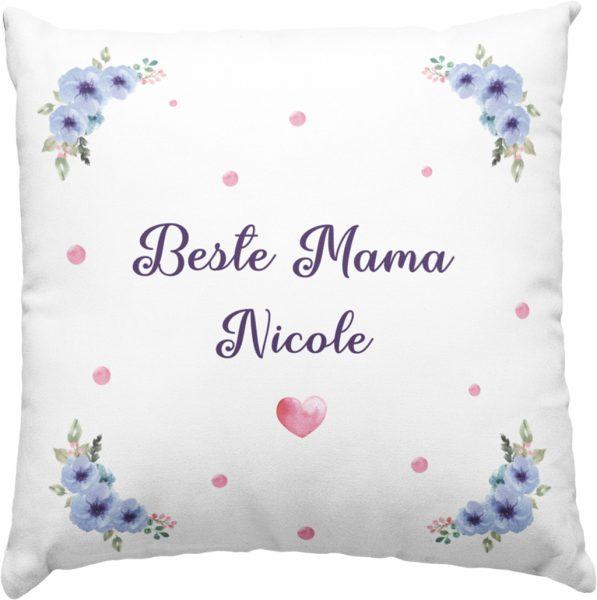 Dekokissen Kissen inkl. Füllung Beste Mama