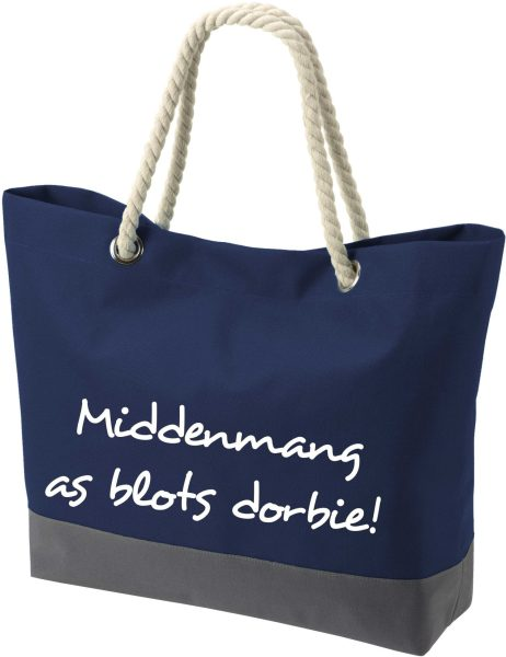 Shopper Bag Einkaufstasche Maritim Nautical Middenmang