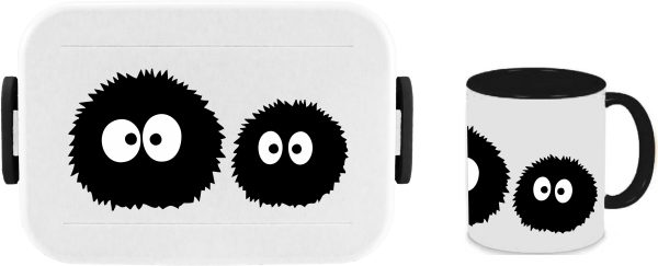 Bento Brotdose Take A Break Large - Tasse - Susuwatari