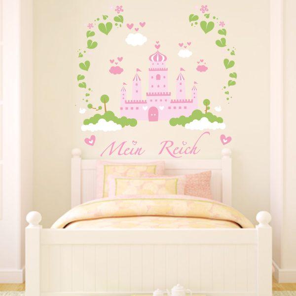 Wandtattoo Prinzessinnenschloss