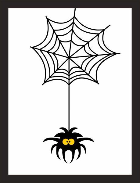 Kunstdruck Spinne