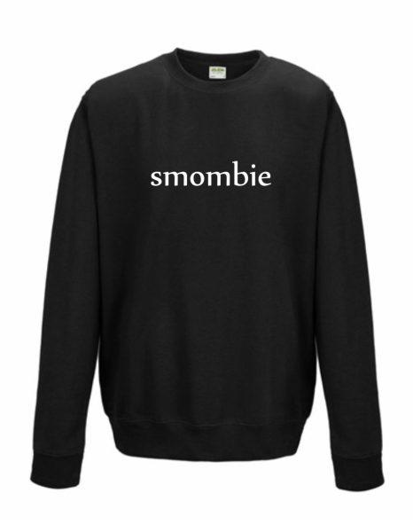 Sweatshirt Shirt Pullover Pulli Unisex Smartphone Zombie Smombie
