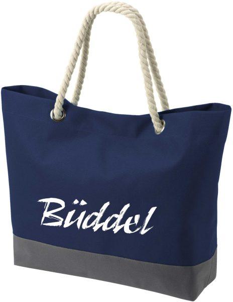 Shopper Bag Einkaufstasche Maritim Nautical Büddel
