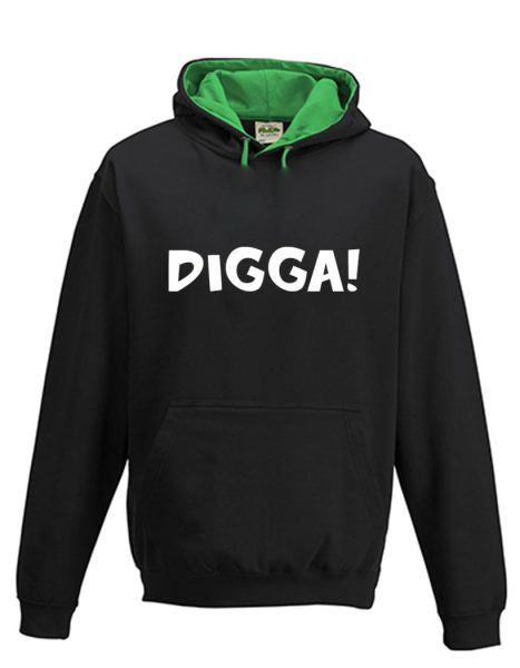 Kapuzenpullover Pullover Hoodie Digga