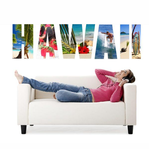 Wandtattoo Hawaii