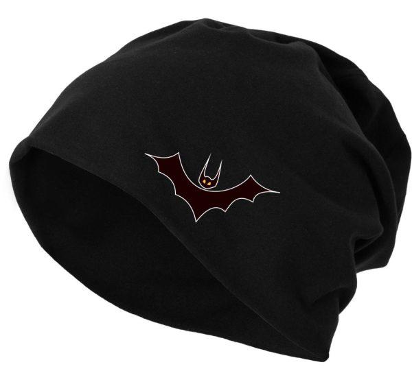 Jersey Beanie Mütze Wintermütze Bat Fledermaus