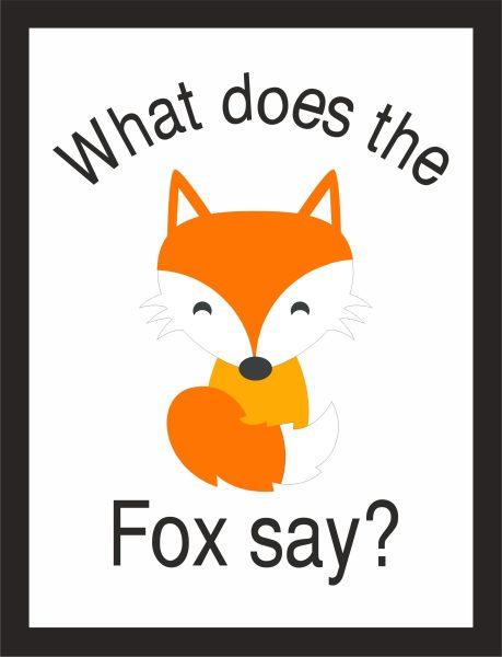 Kunstdruck The Fox