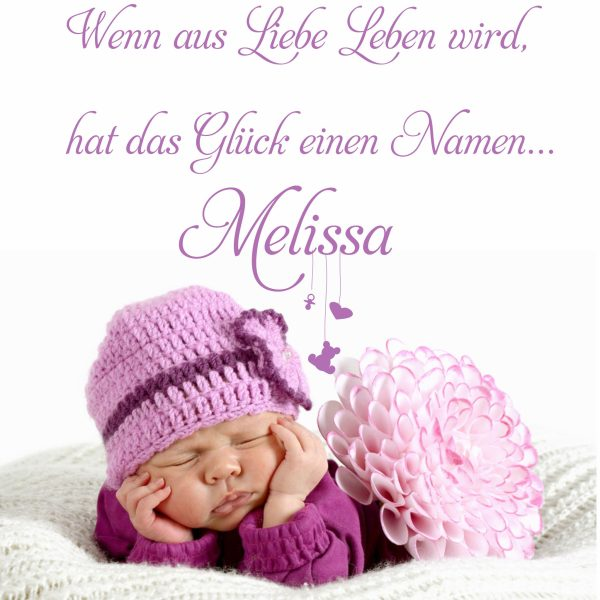 Wandtattoo Happy Baby Spruch