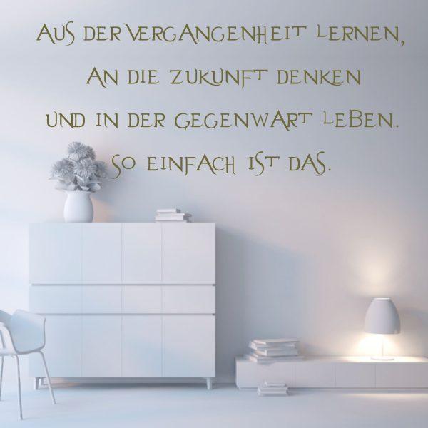 """Wandtattoo """"Aus der Vergangenheit"""""""