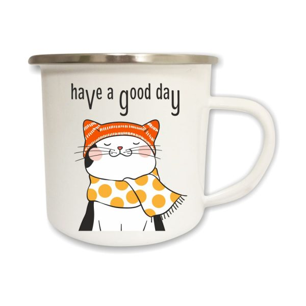 Emailletasse Have a good Day