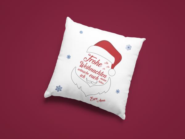 Weihnachtskissen Kissen inkl. Füllung HoHoHo!