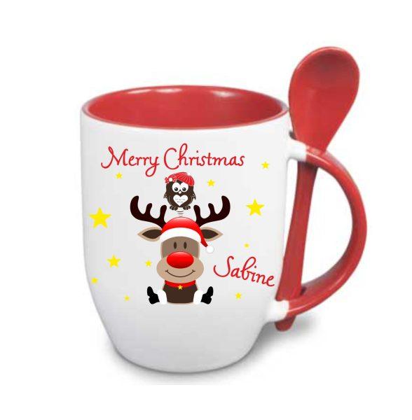 Löffeltasse - Frohe Weihnachten