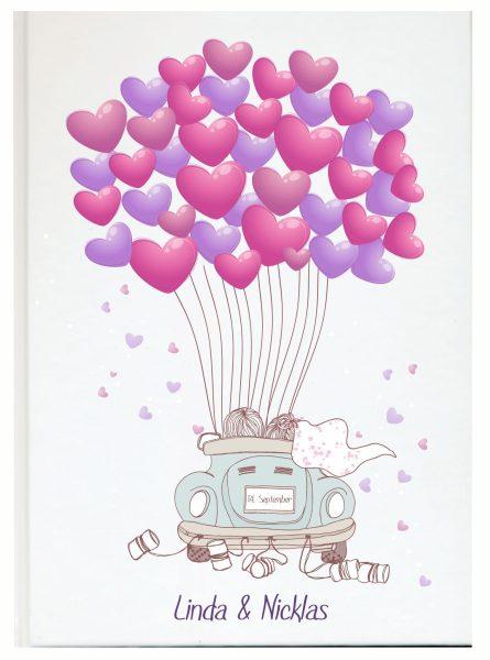 Personalisiertes Gästebuch für Ihre Hochzeit (Motiv 29)