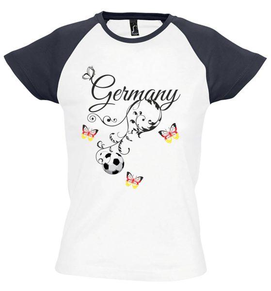 Damen T-Shirt WM 2018 Motiv 14 Germany