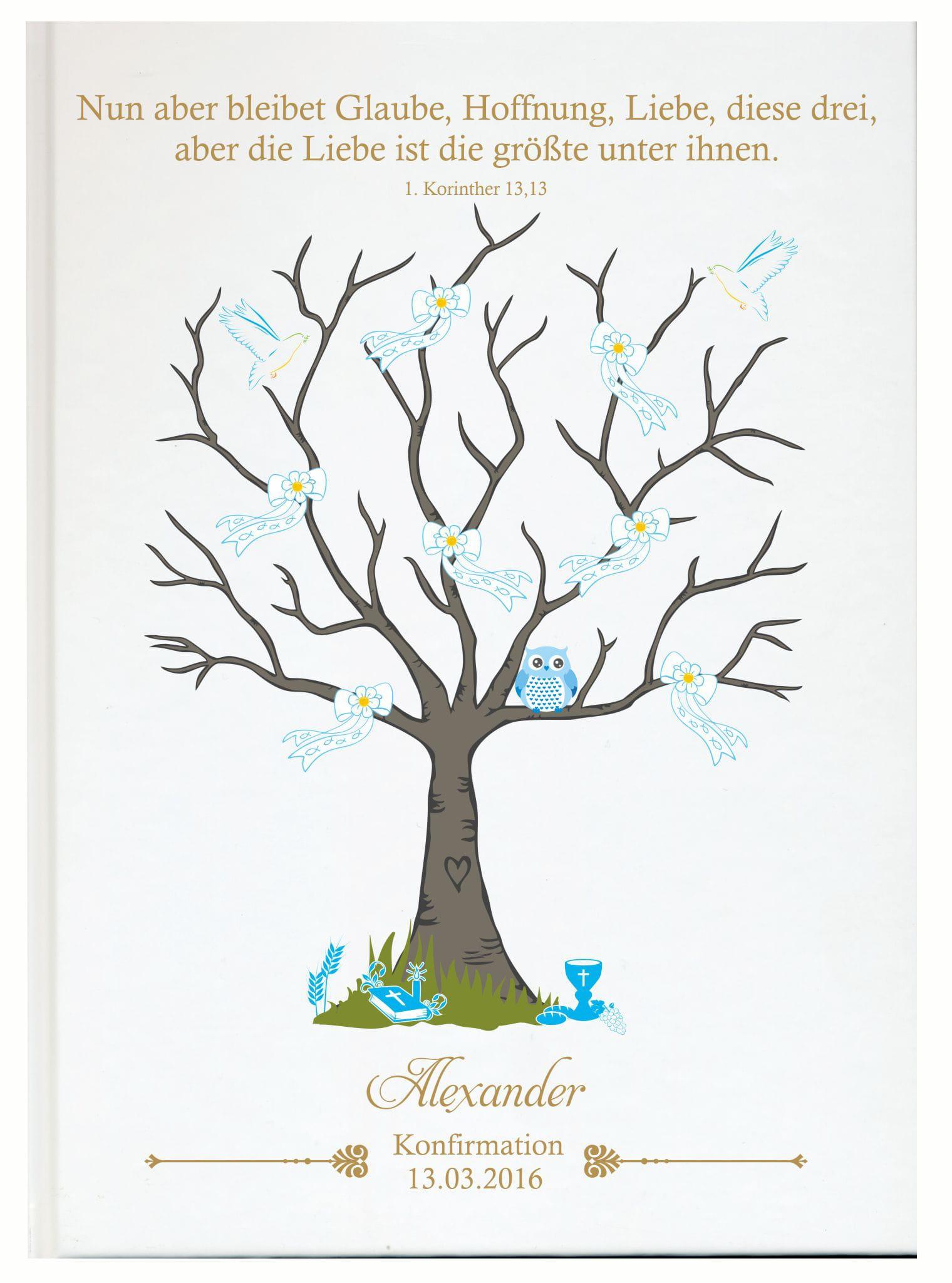 Konfirmation Kommunion Jugendweihe Gästebücher