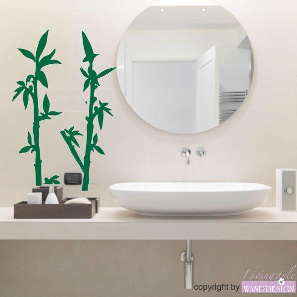 Wandtattoo Bambus Pflanzen