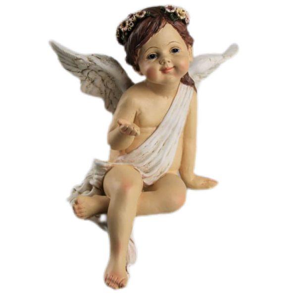 Engel Figur Schutzengel Weihnachtsengel Kantenhocker