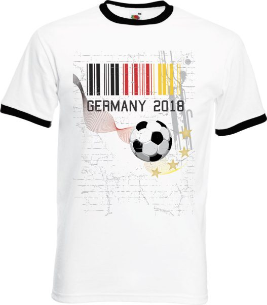 Herren T-Shirt WM 2018 Motiv 6 Barcode