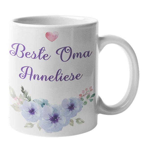 Tasse Weiß Beste Oma
