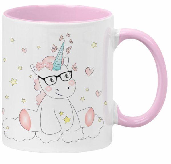 Tasse Einhorn Cutie mit Brille