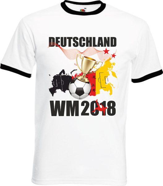 Herren T-Shirt WM 2018 Motiv 10 Pokal