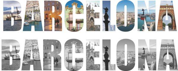 Wandtattoo Barcelona
