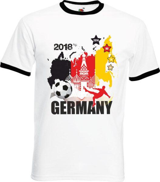 Herren T-Shirt WM 2018 Motiv 4 Russland Türme