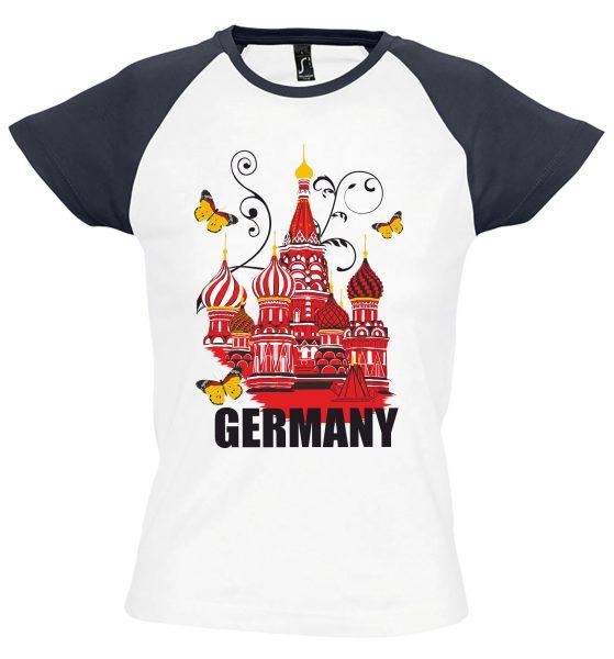 Damen T-Shirt WM 2018 Motiv 13 Türme