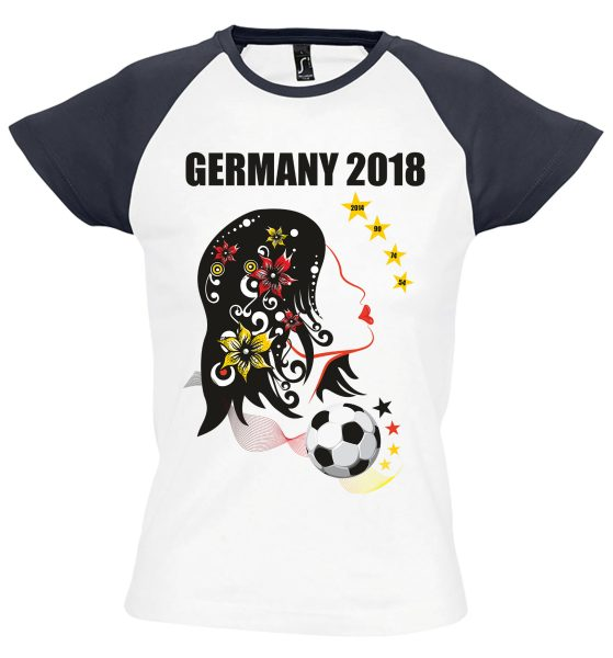 Damen T-Shirt WM 2018 Motiv 4 Mädchentraum