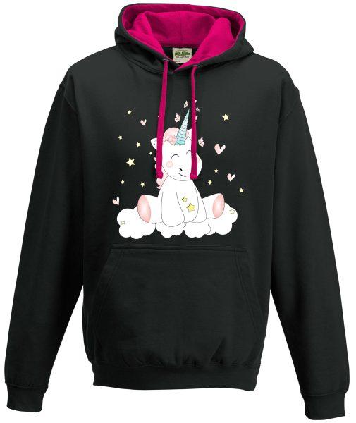Kapuzenpullover Pullover Hoodie Einhorn cutie