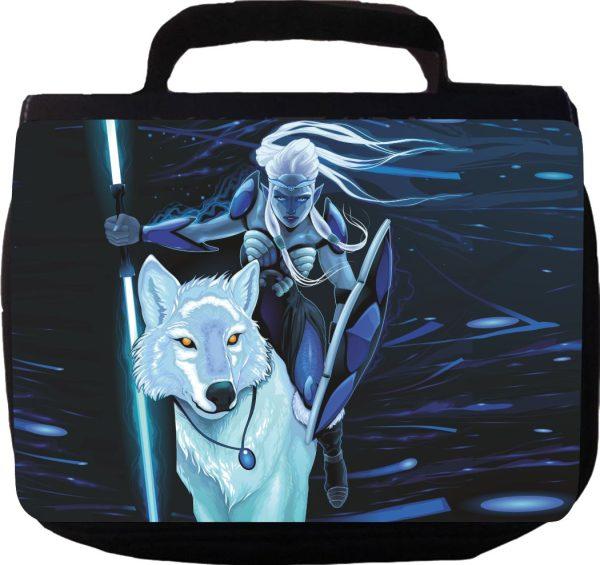 Kulturbeutel Kulturtasche Waschtasche Space Wolf