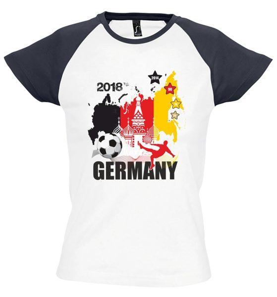 Damen T-Shirt WM 2018 Motiv 15 Russland Türme